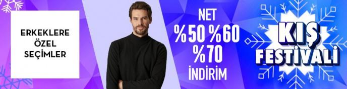 Morhipo Erkeklere Özel Seçimler %70'e Varan İndirimlerle!