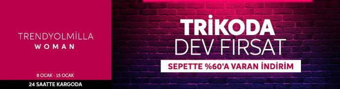 Trendyol Trikoda DEV FIRSAT! Sepette %60'a Varan İndirim
