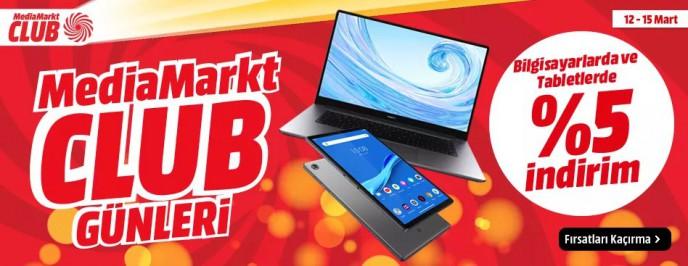 MediaMarkt Club Günleri Başladı: Bilgisayar ve Tabletlerde İNDİRİM