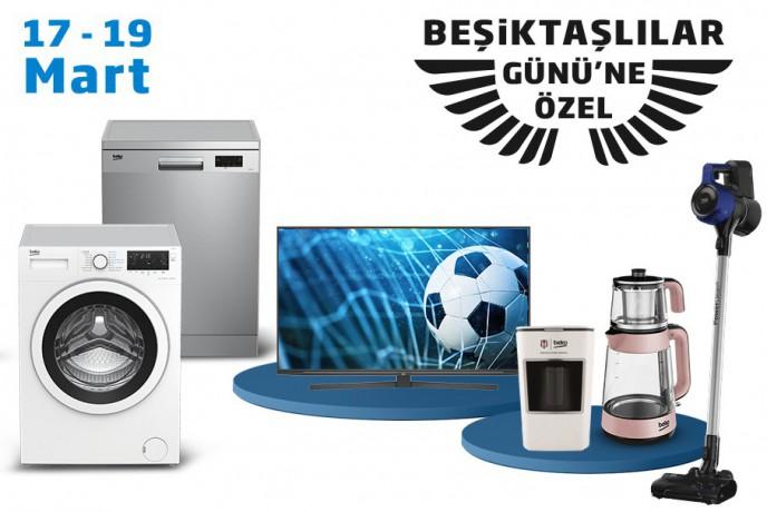 Efsane Sponsor Beko İle Beşiktaşlılar Günü'ne Özel Sürpriz İndirimler!