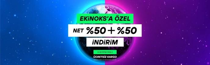 Hotiç'te Ekinoksa Özel Net %50+%50 İndirim Fırsatı Başladı!