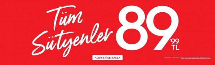 Suwen'de İç Giyim Ürünleri Tek Fiyat Kampanyası Başladı