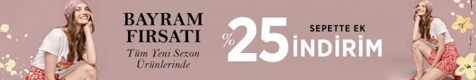 Mudo'da Bayram Fırsatı Sepette %25 Ek İndirim!