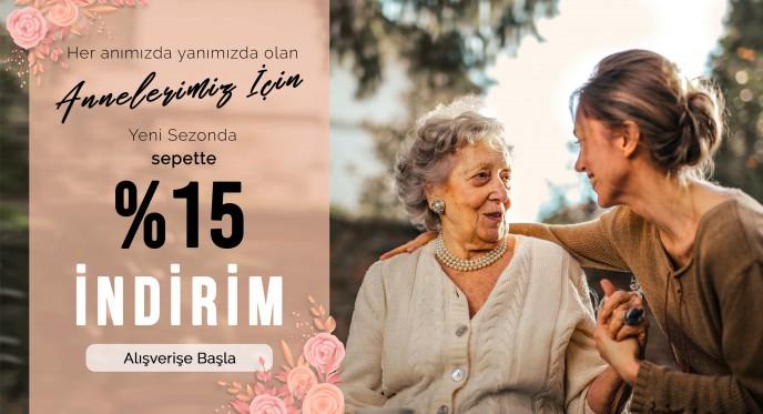 İlvi'de Anneler İçin Yeni Sezon Ürünleri Sepette %15 Ek İndirimle!