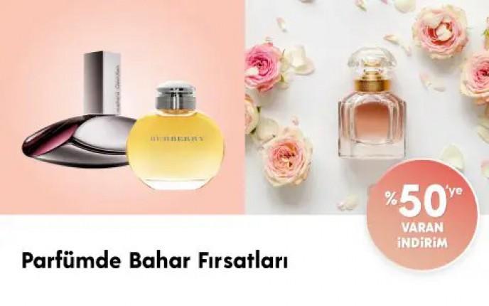 ÇiçekSepeti'nde %50'ye Varan Parfüm Fırsatları