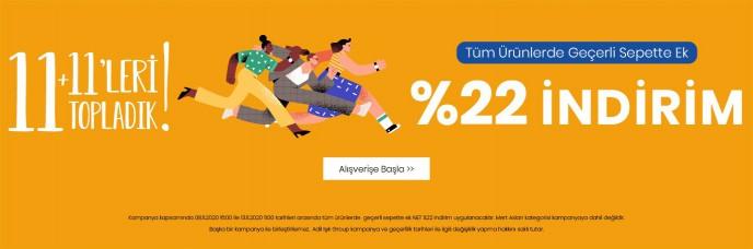 adL 11.11'leri Topladı, Tüm Ürünlerde Geçerli Sepette %22 İndirim