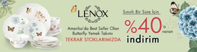 Brandroom Butterfly Yemek Takımı Sınırlı Bir Süre İçin %40 İndirimli!