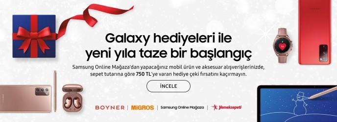 Samsung Galaxy Hediyeleri ile Yeni Yıla Taze Bir Başlangıç
