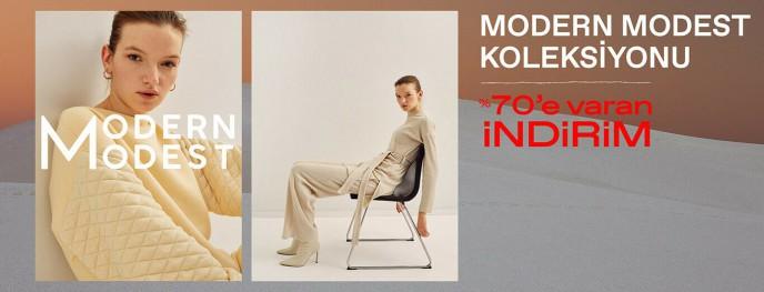 Koton Modern Modest Koleksiyonu'nda %70'e Varan İndirim!