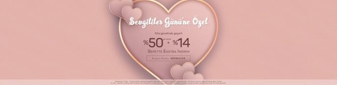 Lidyana'da Sevgililer Günü'ne Özel %50+%14 İndirim Fırsatı!