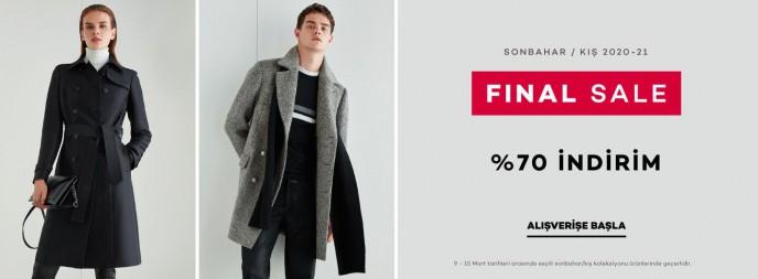 Network %70'e Varan Final Sale İndirimleri Başladı!