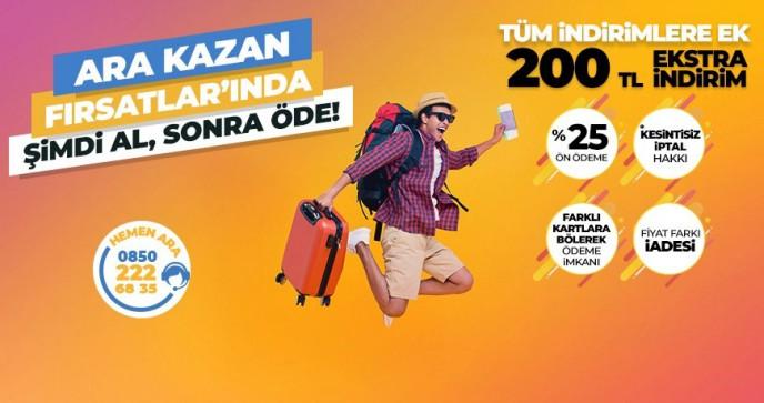 Tatil.com'da Ara Kazan Fırsatı Başladı!