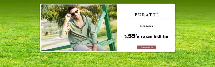 Buratti Ürünlerinde %55'e Varan İndirimler MarkaStok'ta!