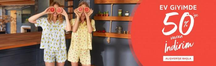 Suwen Ev Giyim Ürünlerinde %50'ye Varan İndirim Devam Ediyor