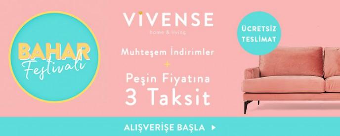 Vivense'de 21-30 Nisan Bahar Festivali Kampanyası Başladı!