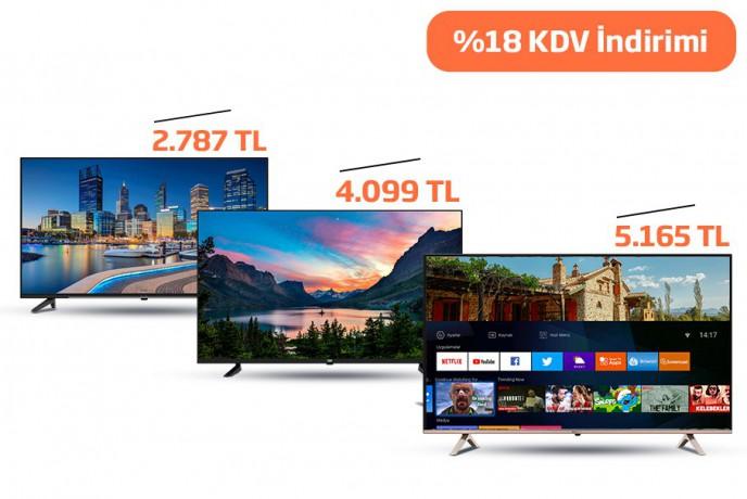 Beko'dan Beko Ve Grundig TV'lerde %18 KDV İndirimi!