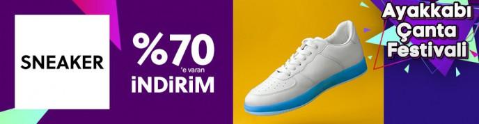 Morhipo Ayakkabı Çanta Festivali Başladı! Sneaker Modelleri %70'e Varan İndirimlerle
