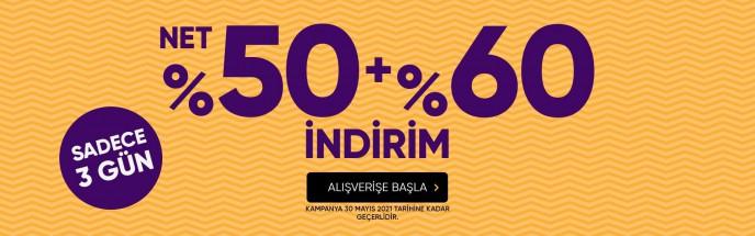 Hotiç'te Net %50+%60 İndirim Kampanyası Devam Ediyor!