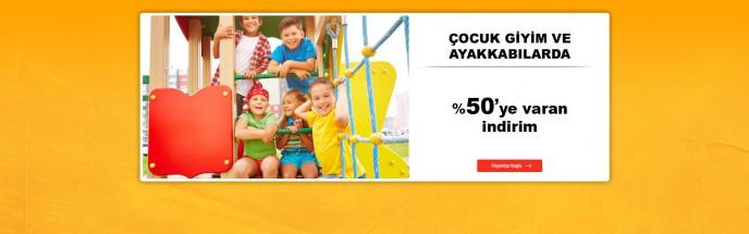 Çocuk Giysi ve Ayakkabılarında %50'ye Varan İndirim MarkaStok'ta!