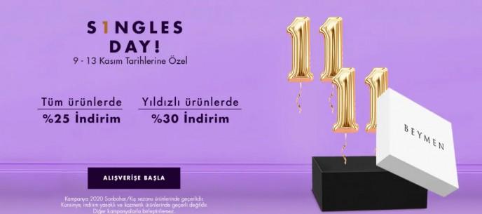 Beymen Single's Day İndirimlerinde Son Gün! %30'a Varan İndirimler