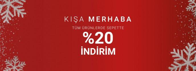 Pierre Cardin'de Kışa Merhaba Kampanyası ile %20 İndirim