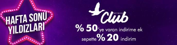 Morhipo Hafta Sonu Yıldızları: %50'ya Varan +%20 İndirim