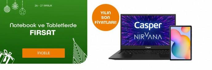 Teknosa Notebook ve Tabletlerde Yılın Son Fırsatları!