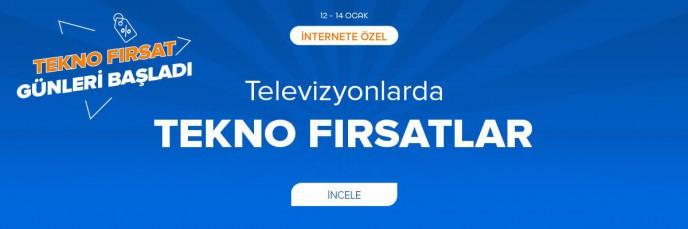 Teknosa'da Televizyonlarda Tekno Fırsatlar!
