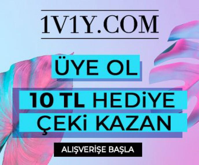 1v1y Üye Ol, 10 TL Hediye Çeki Kazan!