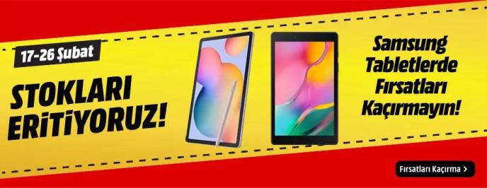 MediaMarkt ile Samsung Tabletlerde Fırsat!