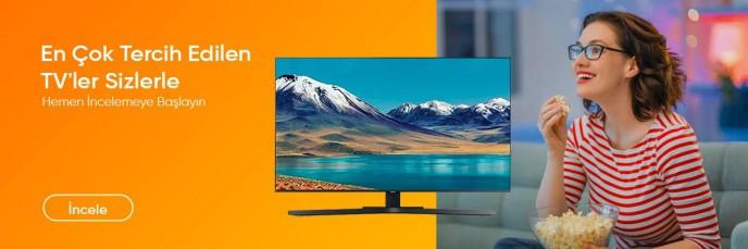 En Çok Tercih Edilen TV'ler Teknosa'da Sizlerle!