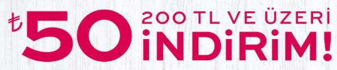 Koton'da Tüm Yeni Sezon Alış Verişlerinde 200 TL Ve Üzeri %50 İndirim!