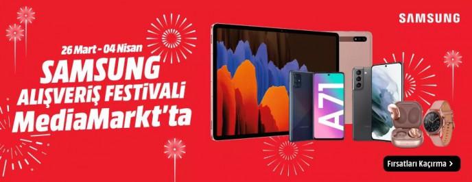 Samsung Alışveriş Festivali Başladı! MediaMarkt ile İndirimlere Ulaşın
