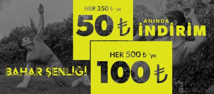 Hummel'da 100 TL'ye Varan İndirim Kampanyası Başladı