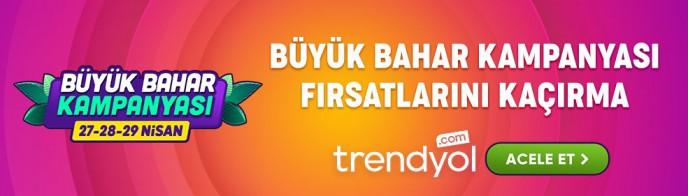 Trendyol'da Büyük Bahar İndirimi Kampanyası Başladı!
