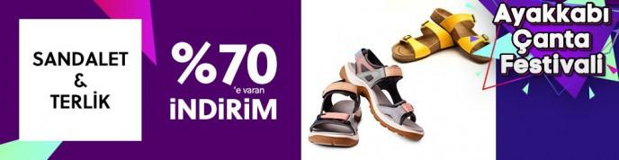 Morhipo Sandalet Ve Terlik Modellerinde %70'e Varan İndirimler