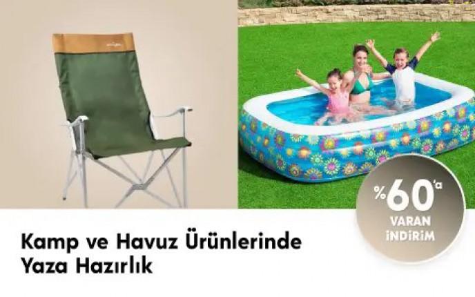 Kamp ve Havuz Ürünlerinde Yaza Hazırlık! %60'a Varan İndirimler Çiçek Sepeti'nde