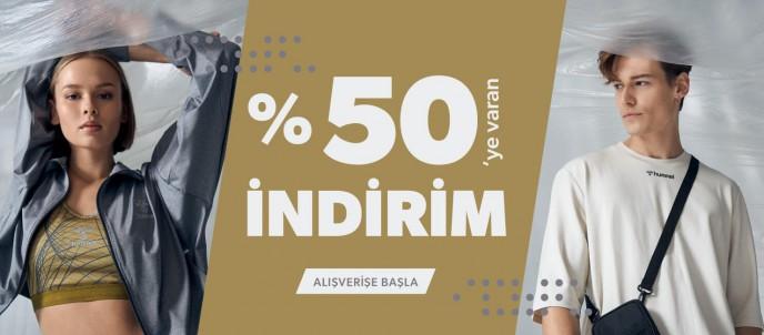 Hummel'da %50'ye Varan İndirim Kampanyası Başladı!
