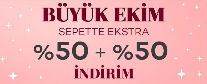 Bernardo'da Büyük Ekim! %50 + Sepette %50 İndirim Fırsatı