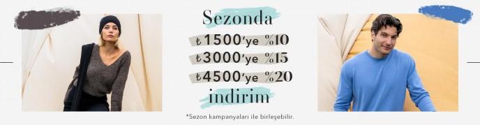 Silk and Cashnere'de %20'ye Varan İndirim Fırsatı!