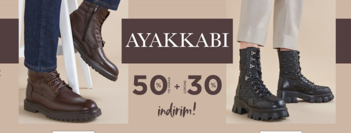 Desa Ayakkabı Modellerinde %50+%30 İndirim Fırsatı!