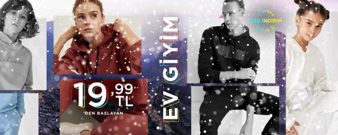 Defacto Kış Festivali: Ev Giyim Ürünlerinde 2. Ürüne %30 İndirim