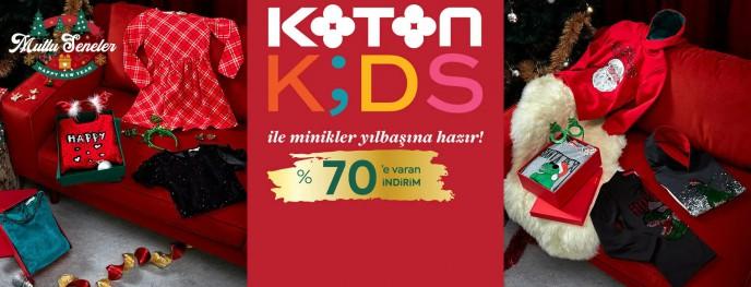 Koton Kids İndirimleri ile Minikler Yılbaşına Hazır!
