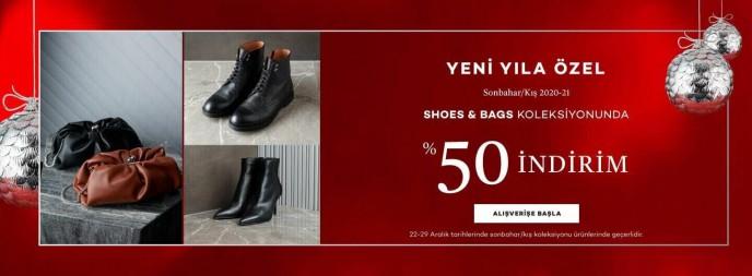 Network Shoes&Bags Koleksiyonunda %50 İndirim!