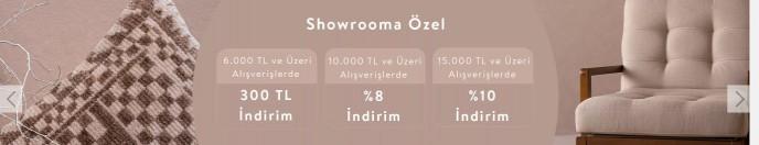 Vivense Showroom'a Özel 300 TL'ye Varan Hediye Kazanma İmkanı!