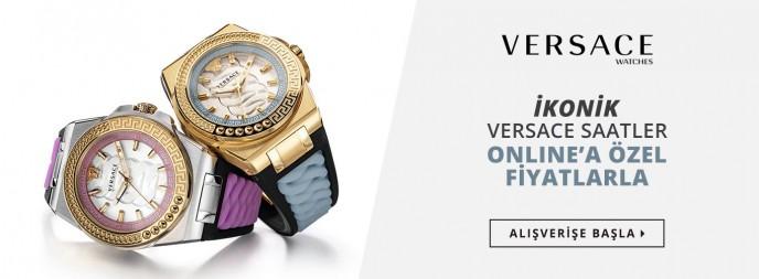 Saat&Saat İkonik Versace Saatler Online'a Özel Fırsatlarla!