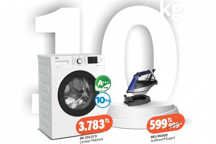 Beko Çamaşır Makinelerinde Ocak Ayına Özel 300 TL'ye Varan İndirim!