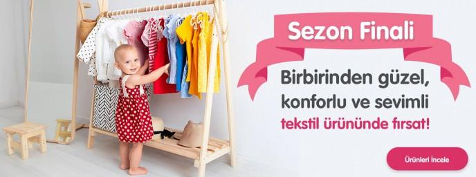 Ebebek Konforlu ve Sevimli Tekstil Ürünlerinde Sezon Finali İndirimleri!