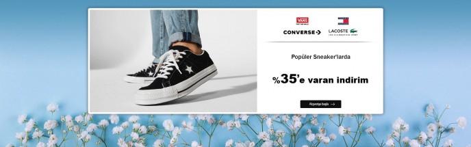 MarkaStok Popüler Sneaker'larda %35'e Varan İndirimler
