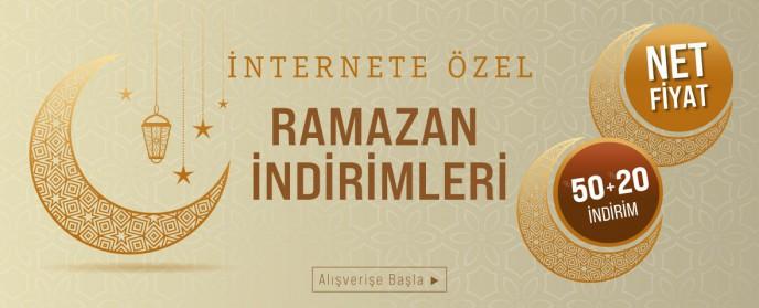 Bernardo'da Ramazan'a Özel Seçili Ürünlerde %50 + %20 İndirim!